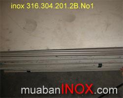 Tấm Inox 304. 2B.  2mm, 5mm. 1m5, 6m