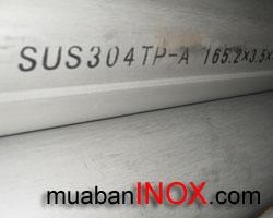 Ống Inox 316 , Ong Inox 316. Ống CN,   hàn Ø 165 mm. 6m